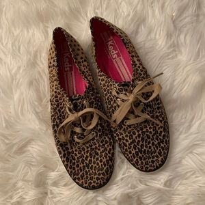 Keds Cheetah print sneakers